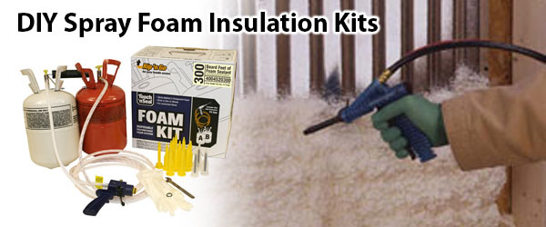 spray foam insulation kits
